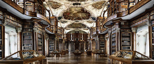 Library at St Gallen