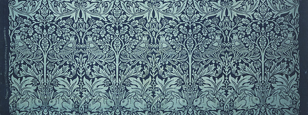 638px-Designed_by_William_Morris,_British_-_Printed_Textile-_Brer_Rabbit_-_Google_Art_Project