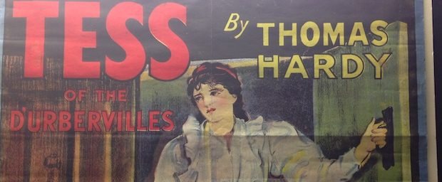Tess of the D'Urbervilles poster in Dorchester Museum